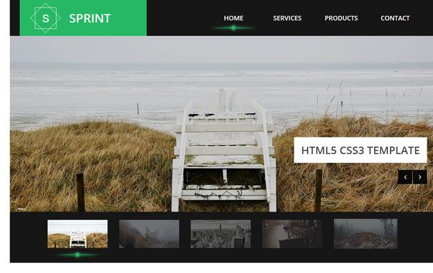 15款免费的 HTML5/CSS3 响应式网页模板