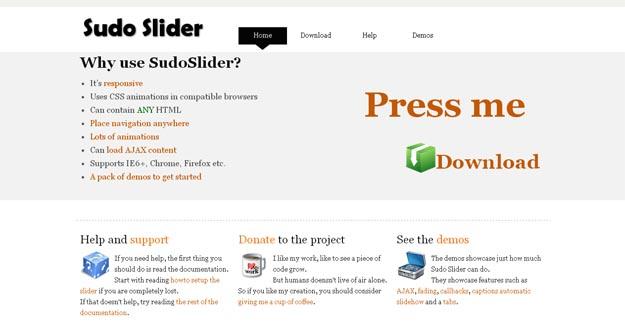 sudo-slider