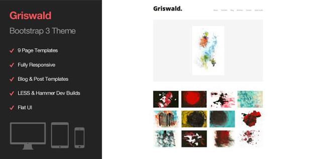Griswald Minimal Artist Portfolio