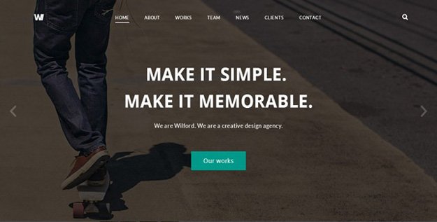 Wilford - Responsive Agency Template