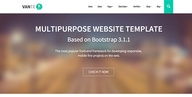vante5 - multipurpose bootstrap template copy