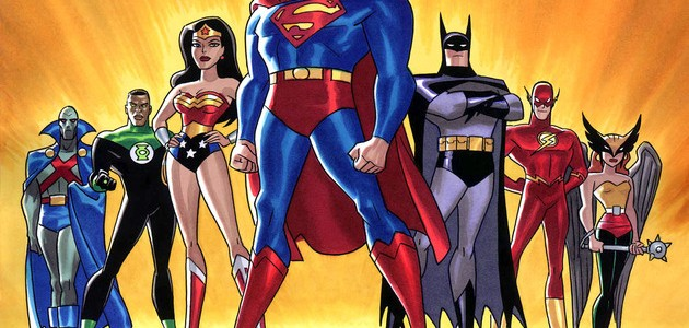 Super Heroes in Comic Illustration Art