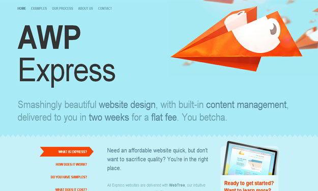 awp-express-blue-website