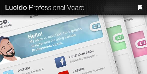 Lucido VCard