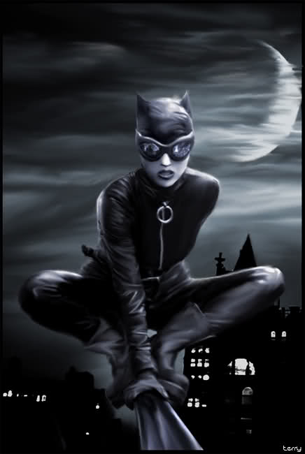 Catwoman Rooftop
