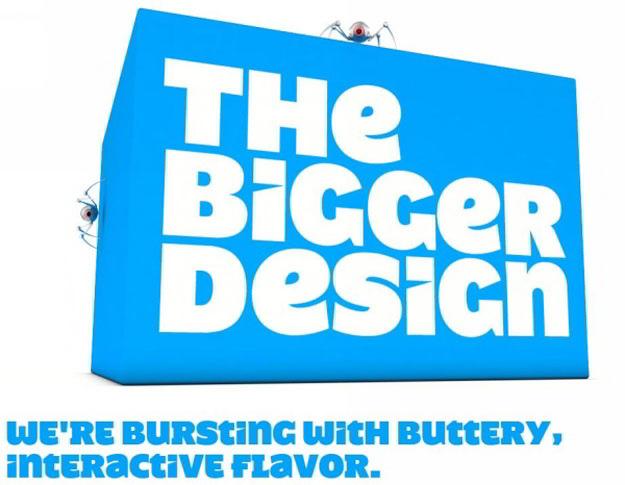 the-bigger-design-blue-website