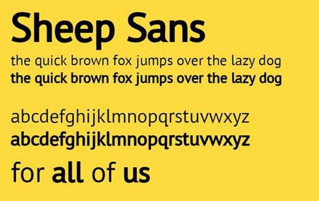 Sheep-Sans