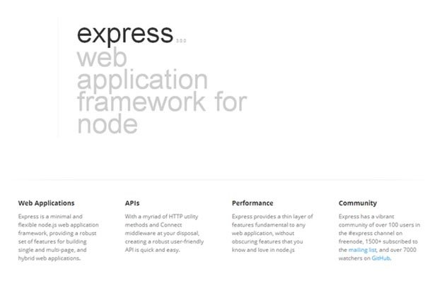 express-node-framework