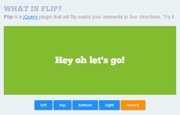 flip-jquery