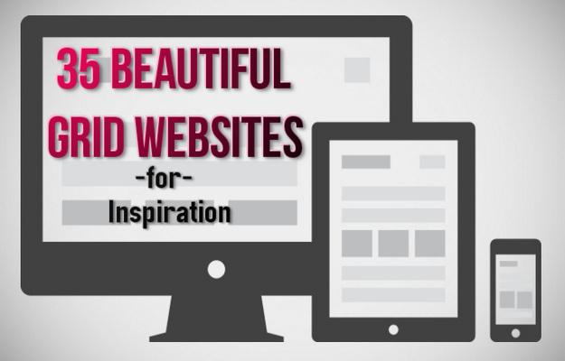 grid web designs