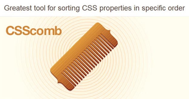 csscomb
