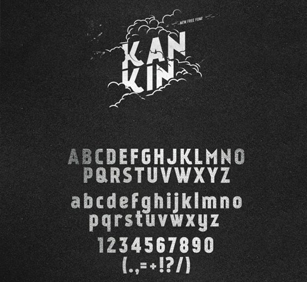 kankin-free-font