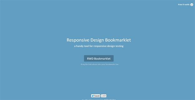 Responsive Design Bookmarklet