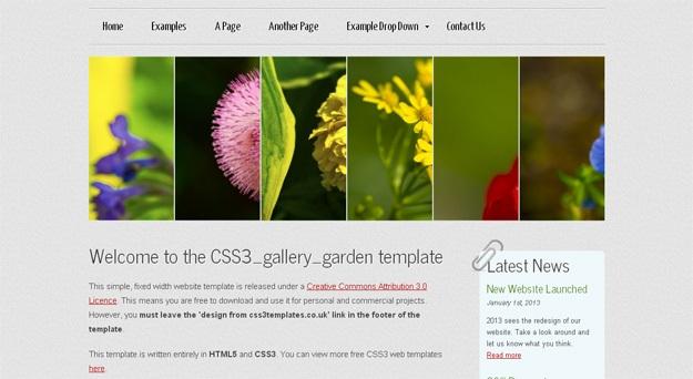 CSS3_gallery_garden