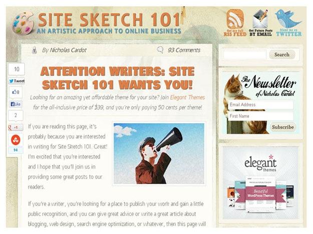 Site Sketch 101