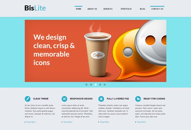 bislite-free-html5-templates