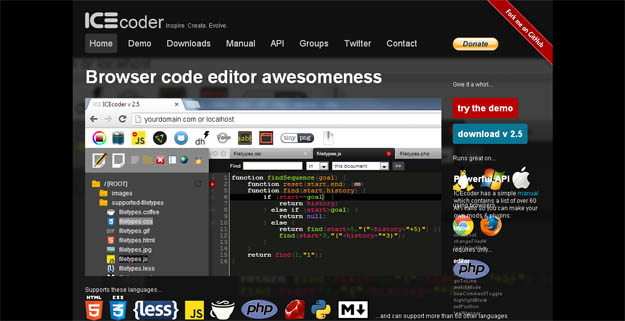 browser-code-editor