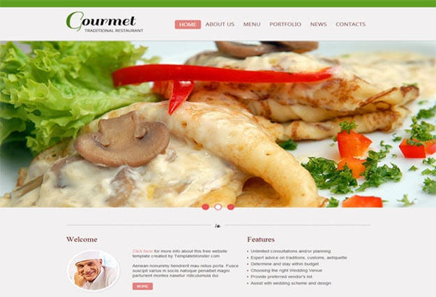 gourmet-2-free-html5-templates