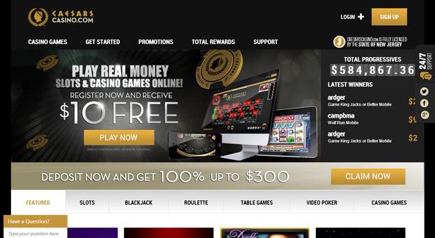 Caesars Online Casino