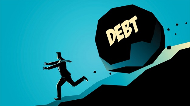 Steps for working one's way through difficult debt situations in business