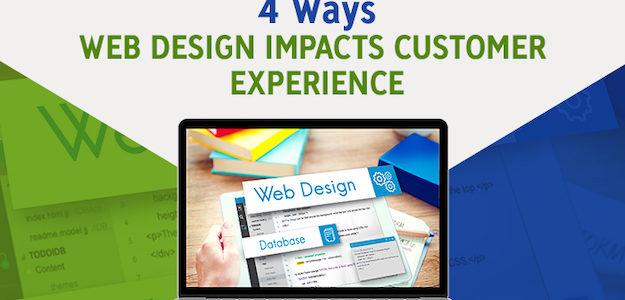 4 Ways Web Design Impacts Customer Experience