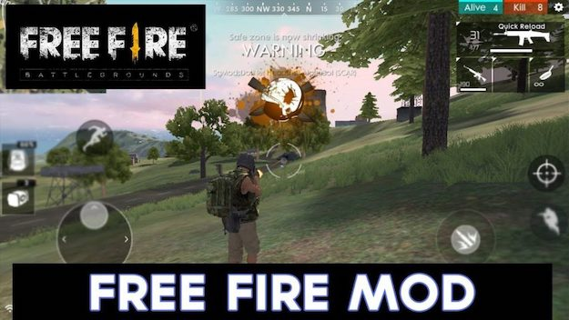 Play the Classic Battle Royale with Garena Free Fire MOD