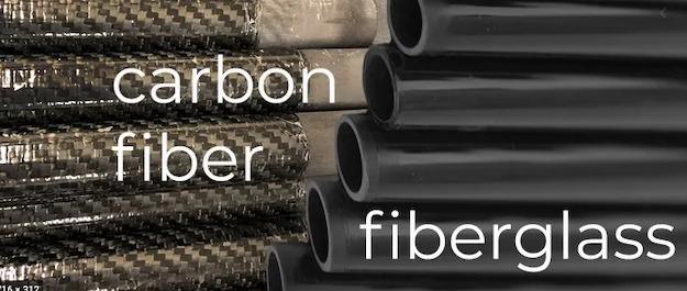 Difference Between Carbon Fiber and Fiberglass
