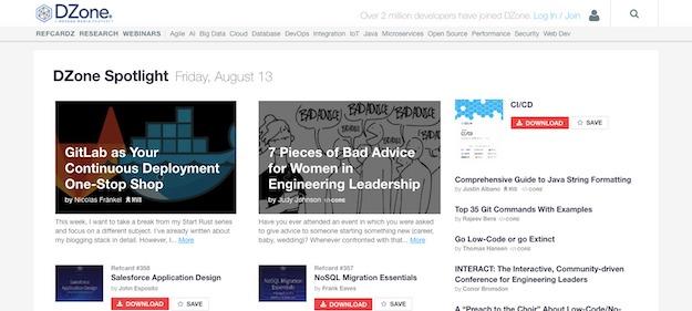 software blog to follow