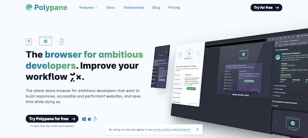 browser for developers and designers
